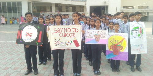 Anti Fire Crackers Campaign