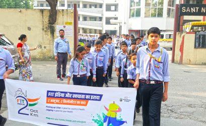 Fit India Plogging Run